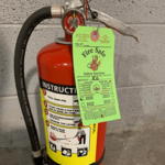 fire safe green tag